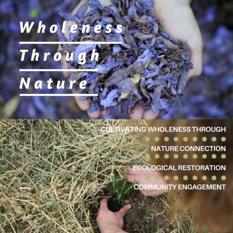 Healing naturehealing ourselves